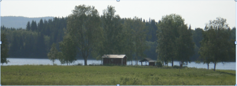 A Swedish rural idyll in the research area. Marco Eimermann©2011